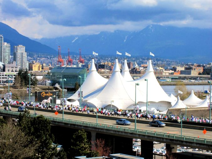 Olympic Village, Cavalia & the Mountains!
