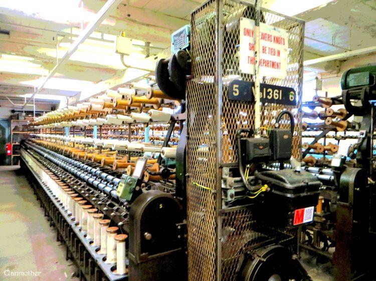 Masson Mill - Spinning Frame